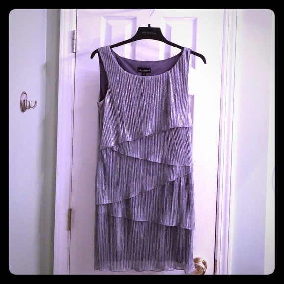 Connected Dresses & Skirts - Shimmering Silver Party Dress